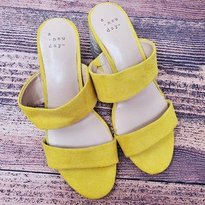 A New Day Patricia Espadrille Pumps Sandals Size 6
